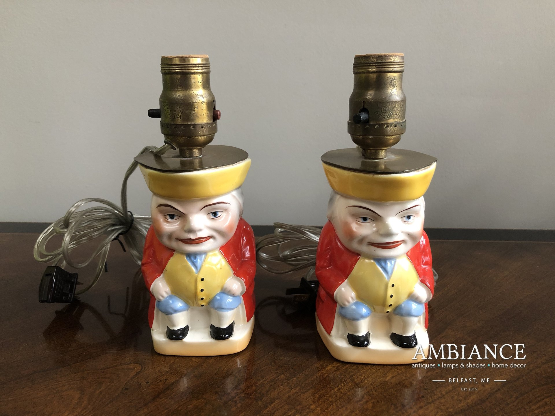 1930s Toby Jug Vintage Lamp for sale online at AMBIANCE (00)