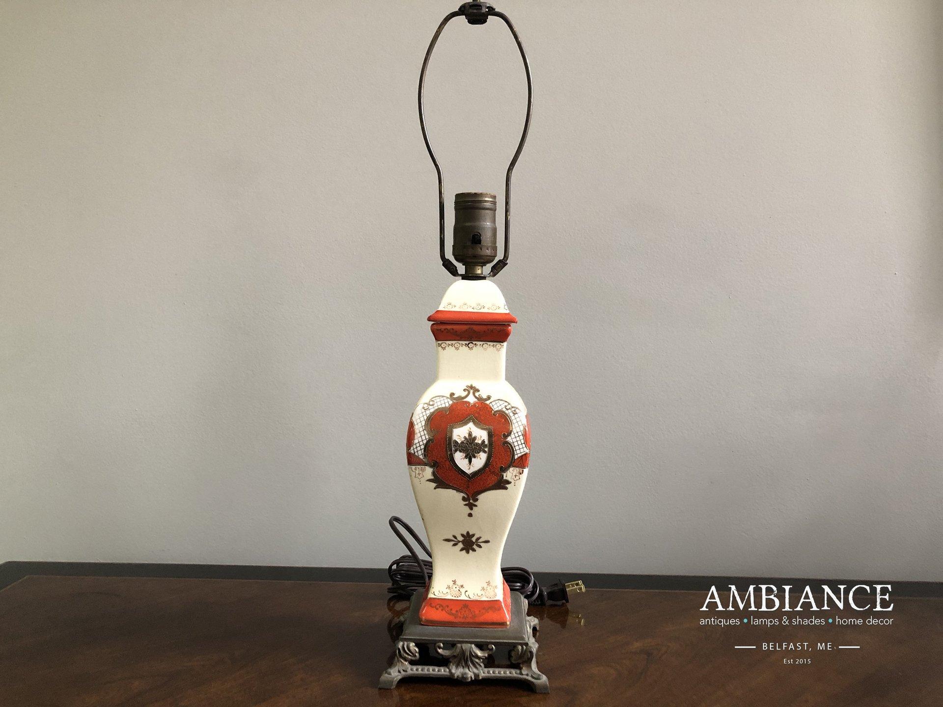 Ginger Jar Vintage Lamp for sale online at AMBIANCE (00)